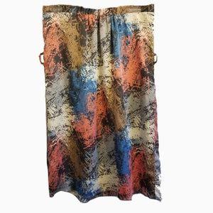 ^Moonlight l midi skirt lined multicolor skirt sm